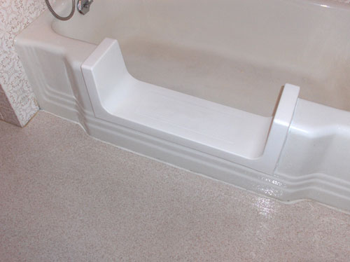 Bathtub To Shower Conversion Before And After